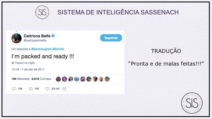Caitriona Balfe twitter