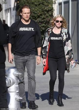 Dating luke neal heughan 'Outlander' Star